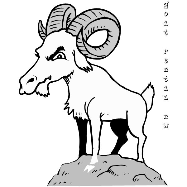 mountain goat coloring page pages best